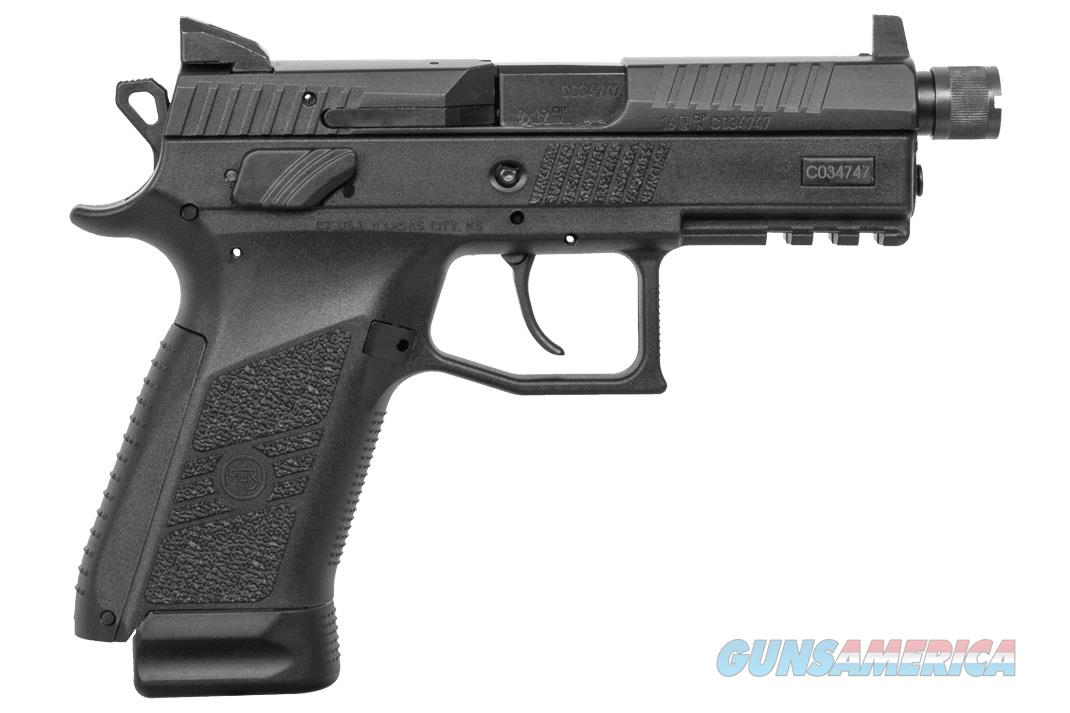 "CZ-USA CZ P-07 Black Suppressor-Ready 9mm 4.36"" 91289   Guns > Pistols > CZ Pistols"