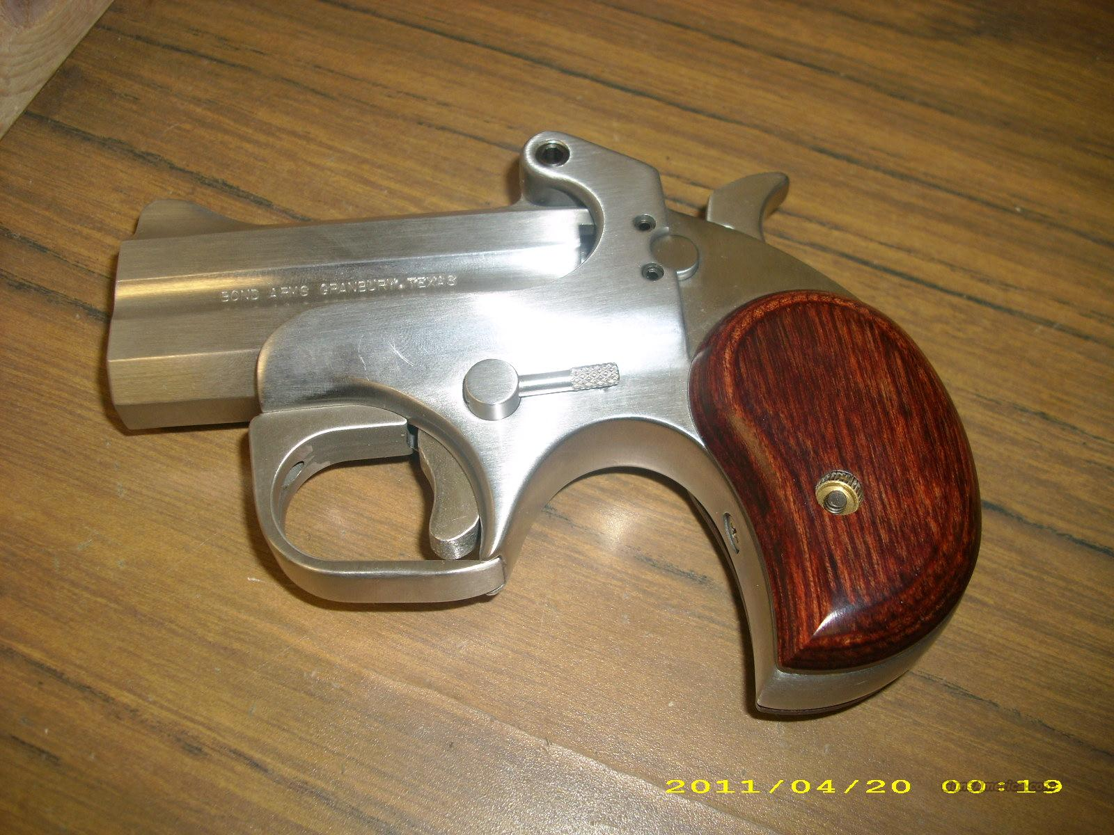 Bond Arms texas Defender .45ACP  Guns > Pistols > Bond Derringers