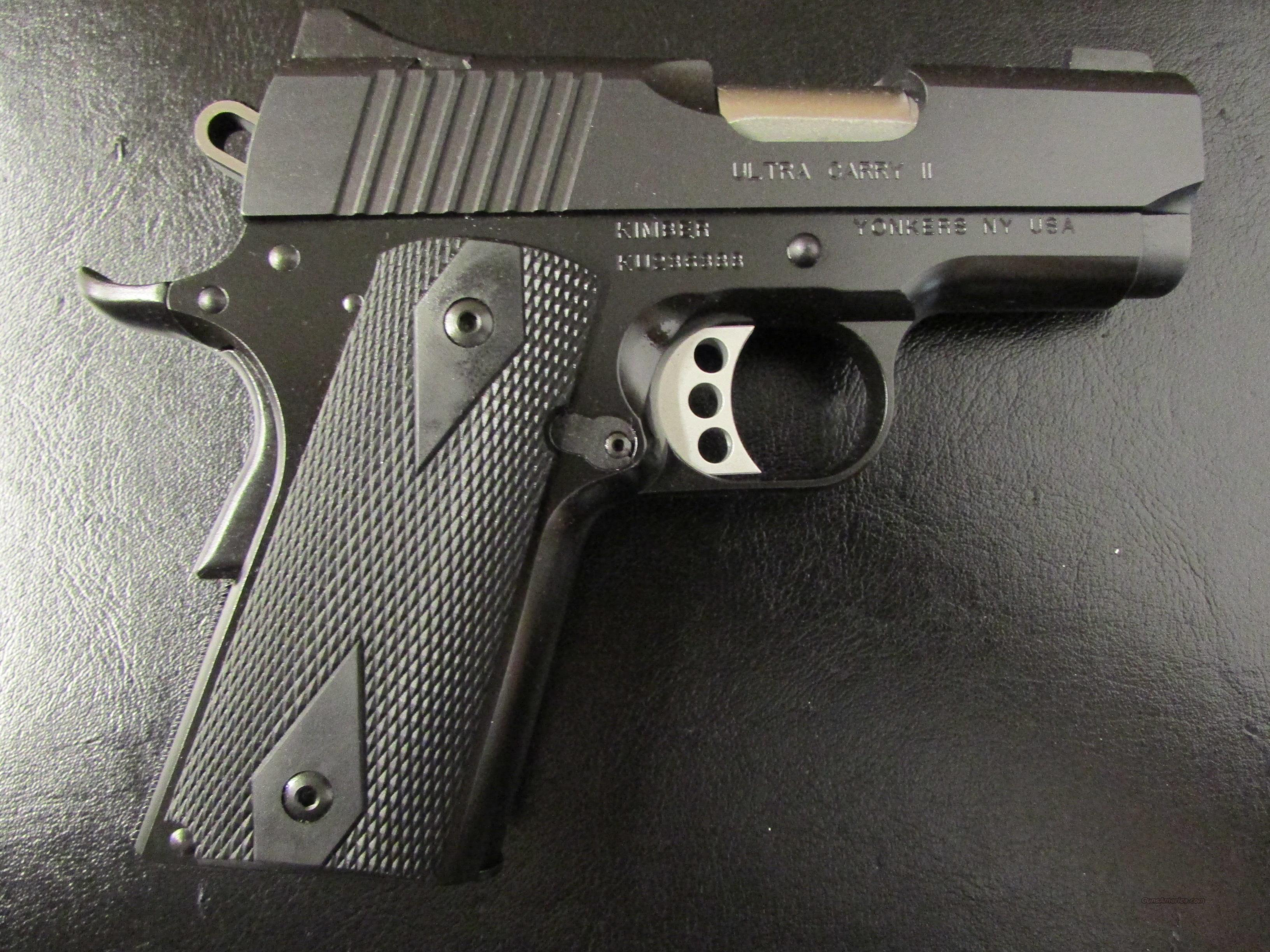 Kimber Ultra Carry II 1911 .45 ACP  Guns > Pistols > Kimber of America Pistols