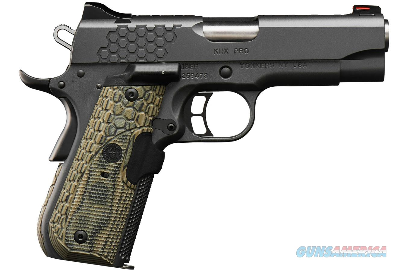 "Kimber KHX Pro 9mm 4"" Fiber Optic Laser Grip 9 Rds 3000363   Guns > Pistols > Kimber of America Pistols > 1911"