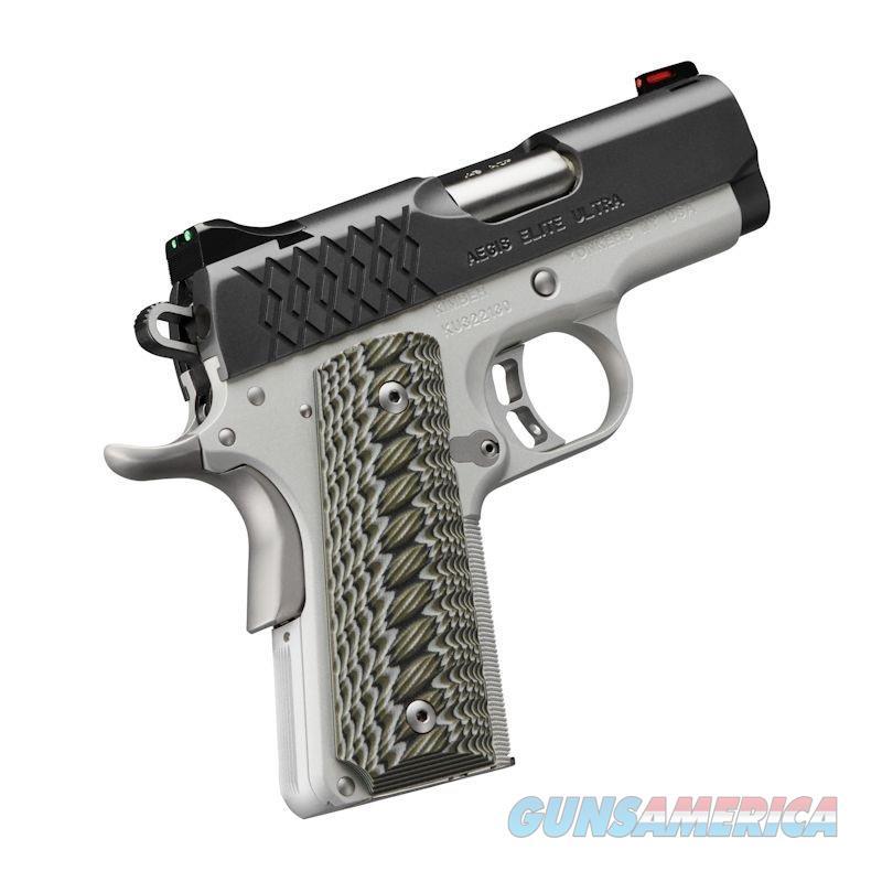"Kimber Aegis Elite Ultra 9mm 3"" 8 Rounds Fiber Optic 3000357   Guns > Pistols > Kimber of America Pistols > 1911"