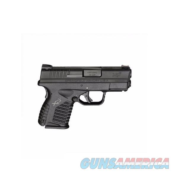 "Springfield XD-S 3.3"" Single Stack Essential Black .45 ACP XDS93345BE  Guns > Pistols > Springfield Armory Pistols > XD-S"