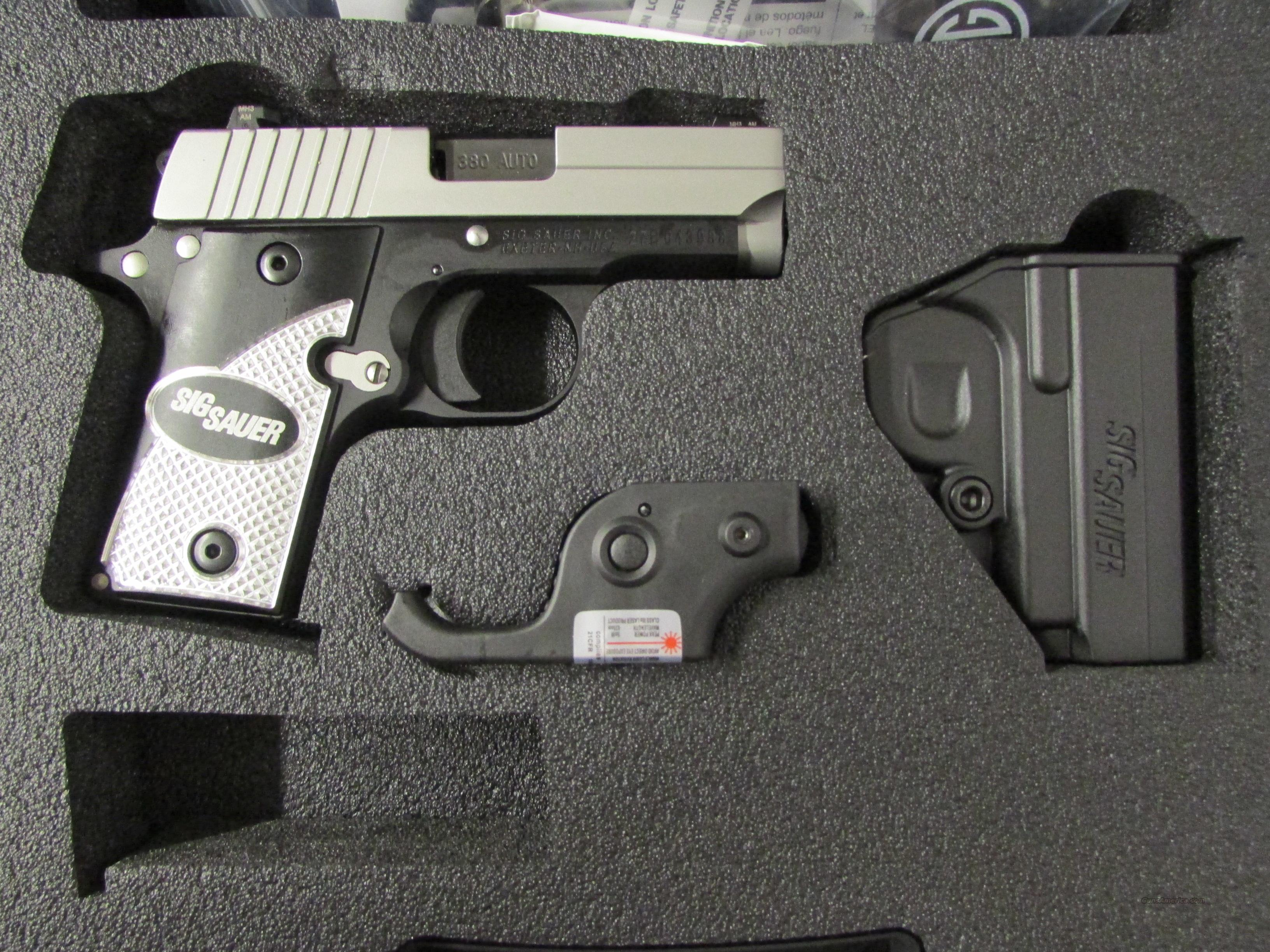 Sig Sauer P238 Tactical Laser .380 ACP with Night Sights  Guns > Pistols > Sig - Sauer/Sigarms Pistols > P238