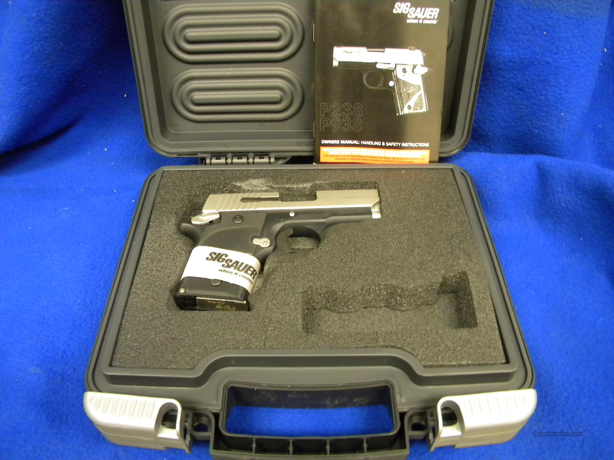 Sig Sauer P938 Pistol 9mm Brand new!   Guns > Pistols > Sig - Sauer/Sigarms Pistols > Other
