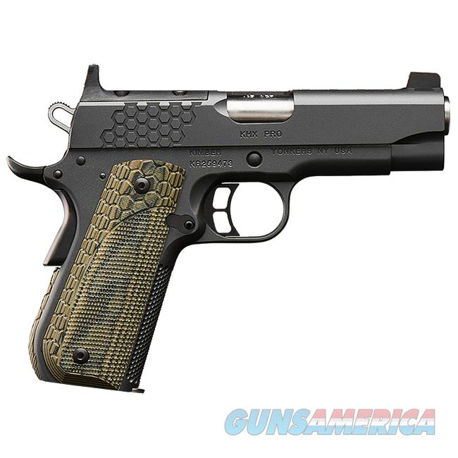 "Kimber KHX Pro (OR) 9mm 4"" Optics Ready 3000364   Guns > Pistols > Kimber of America Pistols > 1911"