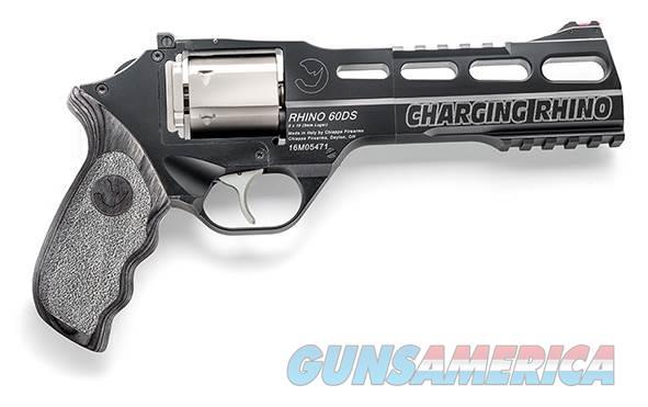 "Chiappa Charging Rhino 60DS 9mm 6"" 6 Rounds 340.271   Guns > Pistols > Chiappa Pistols & Revolvers > Rhino Models"