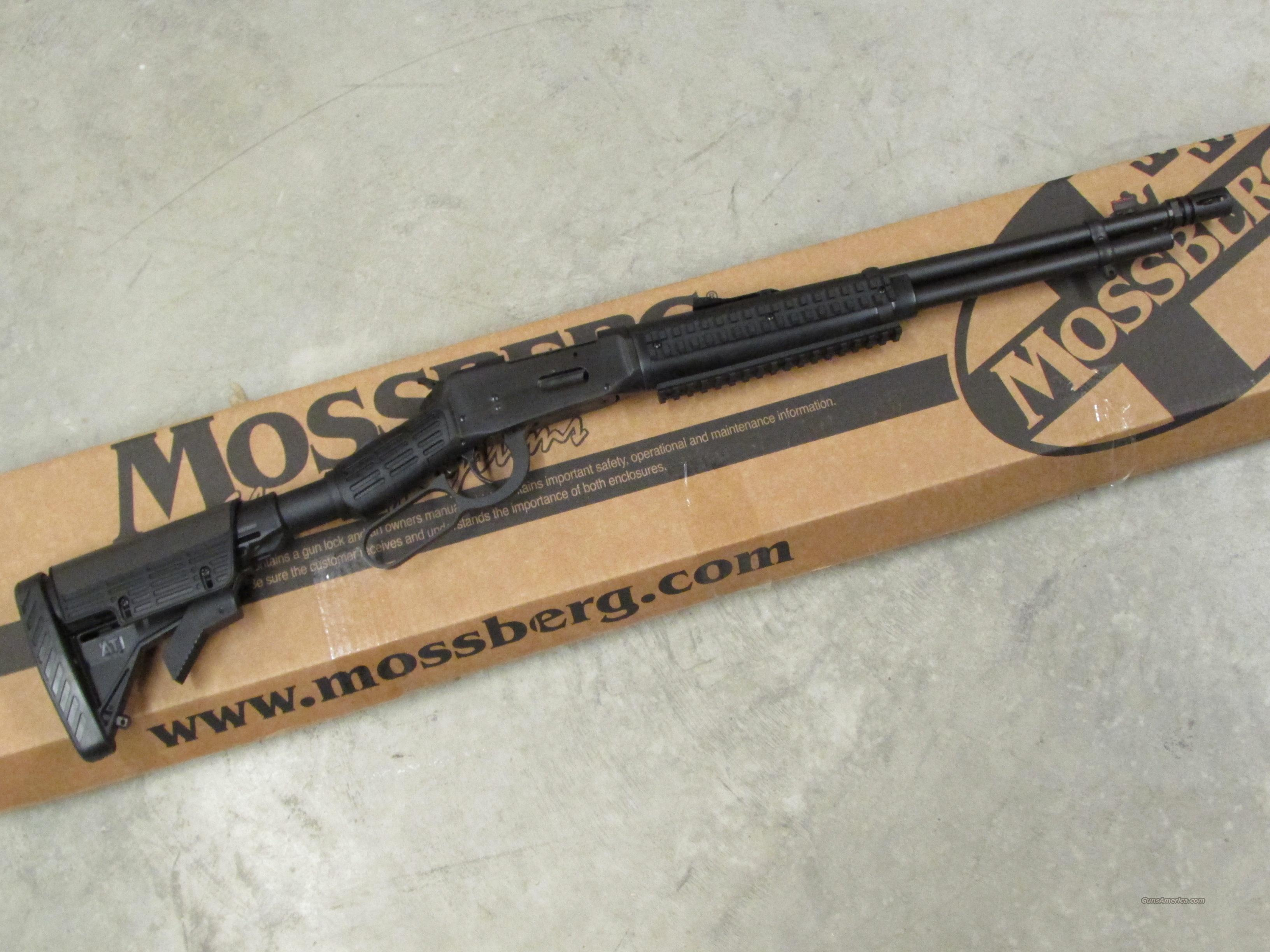 Mossberg Model 464 SPX Tactical Lever-Action .30-30 Win.  Guns > Rifles > Mossberg Rifles > Lever Action