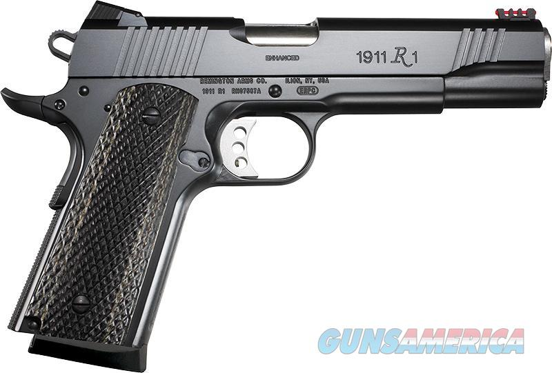 Remington 1911 R1 Enhanced .45 ACP 8rd Fiber Optic 96328   Guns > Pistols > Remington Pistols - Modern