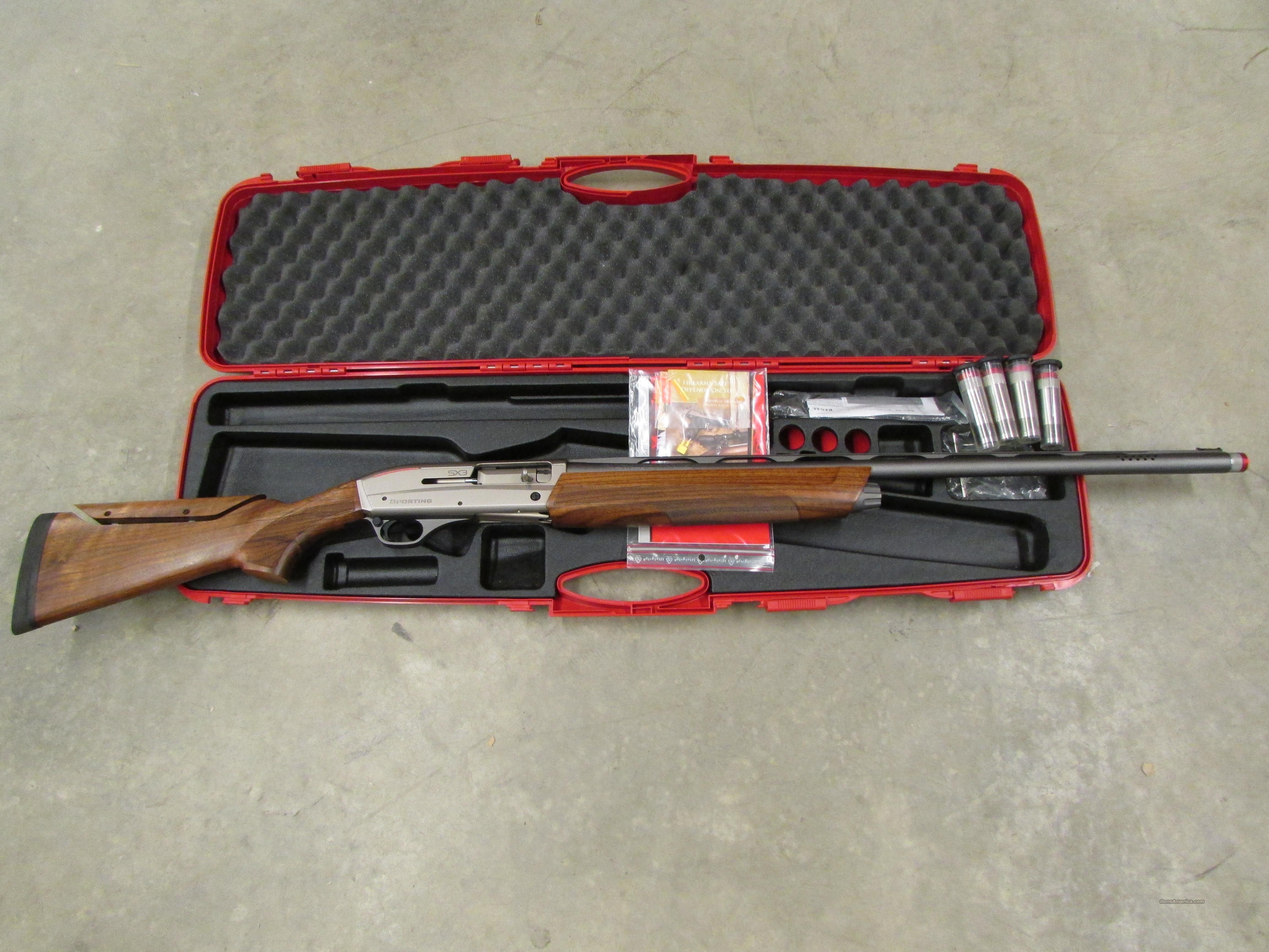 Winchester Super X3 Sporting Walnut Adjustable Comb 12 Gauge  Guns > Shotguns > Winchester Shotguns - Modern > Autoloaders > Trap/Skeet