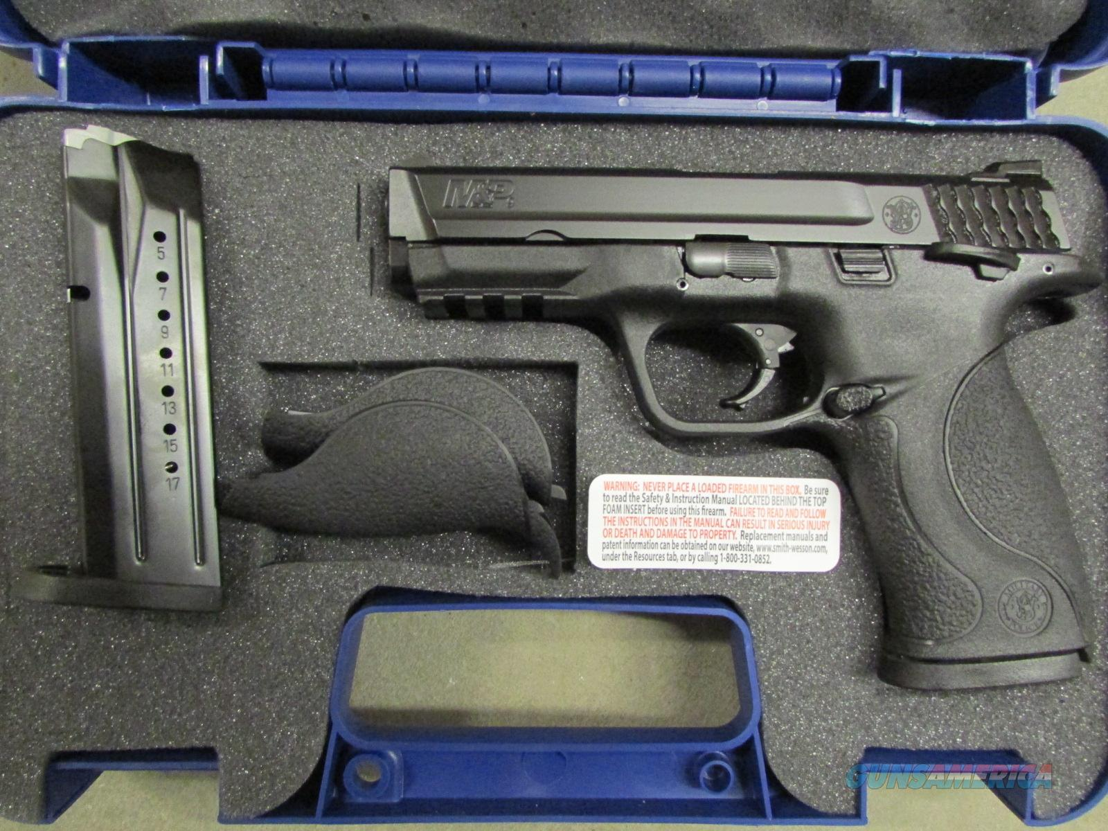 Smith & Wesson M&P9 with Thumb Safety 9mm  Guns > Pistols > Smith & Wesson Pistols - Autos > Polymer Frame