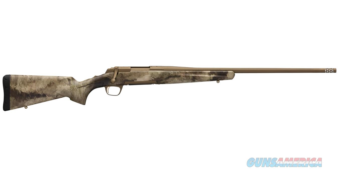"Browning X-Bolt Hell's Canyon SPEED 6.5 Creed 22"" A-TACS AU Camo / Burnt Bonze 035379282  Guns > Rifles > Browning Rifles > Bolt Action > Hunting > Stainless"