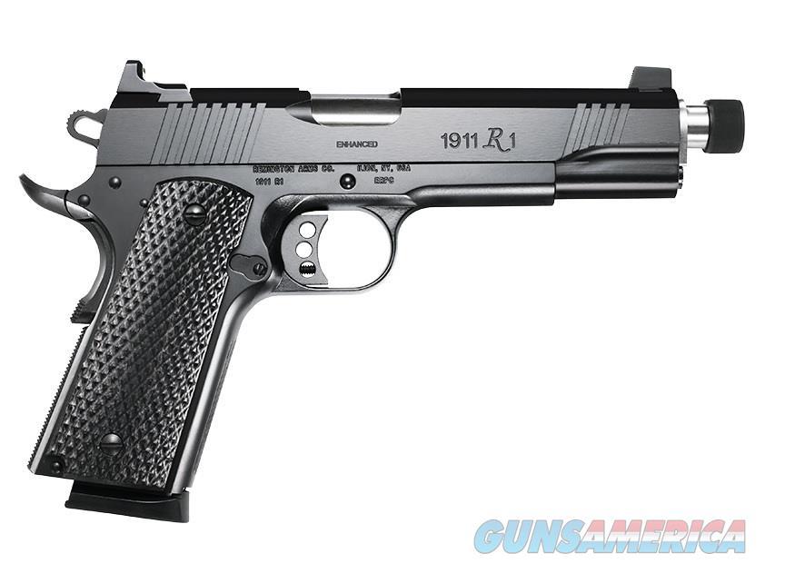 "Remington 1911 R1 Enhanced .45 ACP 5.5"" TB 8 Rds 96339   Guns > Pistols > Remington Pistols - Modern > 1911"