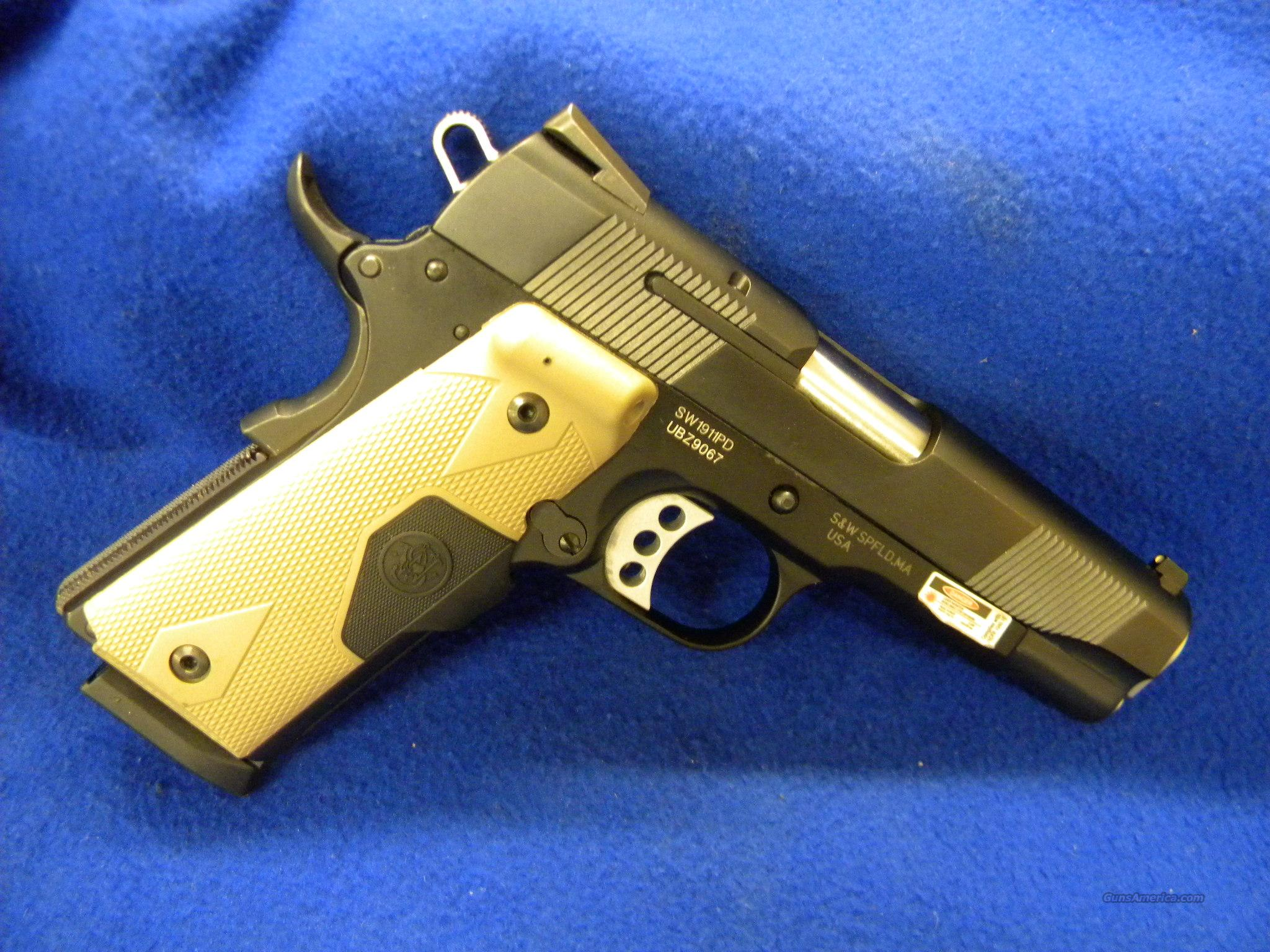 SMITH AND WESSON 1911PD .45ACP 1911  Guns > Pistols > Smith & Wesson Pistols - Autos > Steel Frame