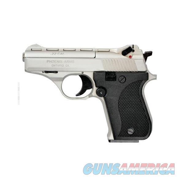 "Phoenix Arms HP22A .22 LR 3"" Vented Nickel 10 Rds HP22ANB  Guns > Pistols > Phoenix Pistols"