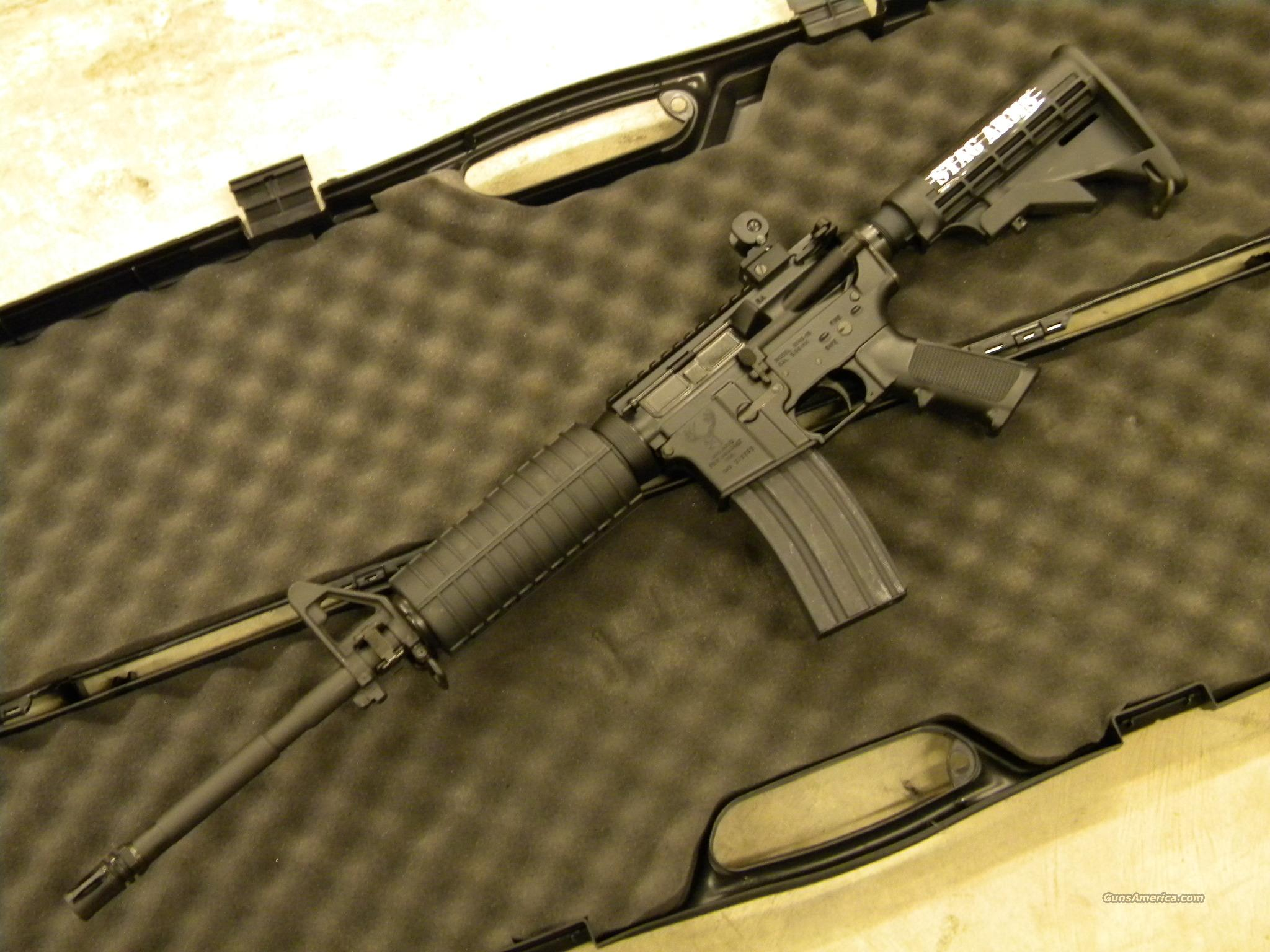 Stag Arms Model 2L Left-Handed AR-15 .223/5.56 NATO  Guns > Rifles > Stag Arms > Complete Rifles