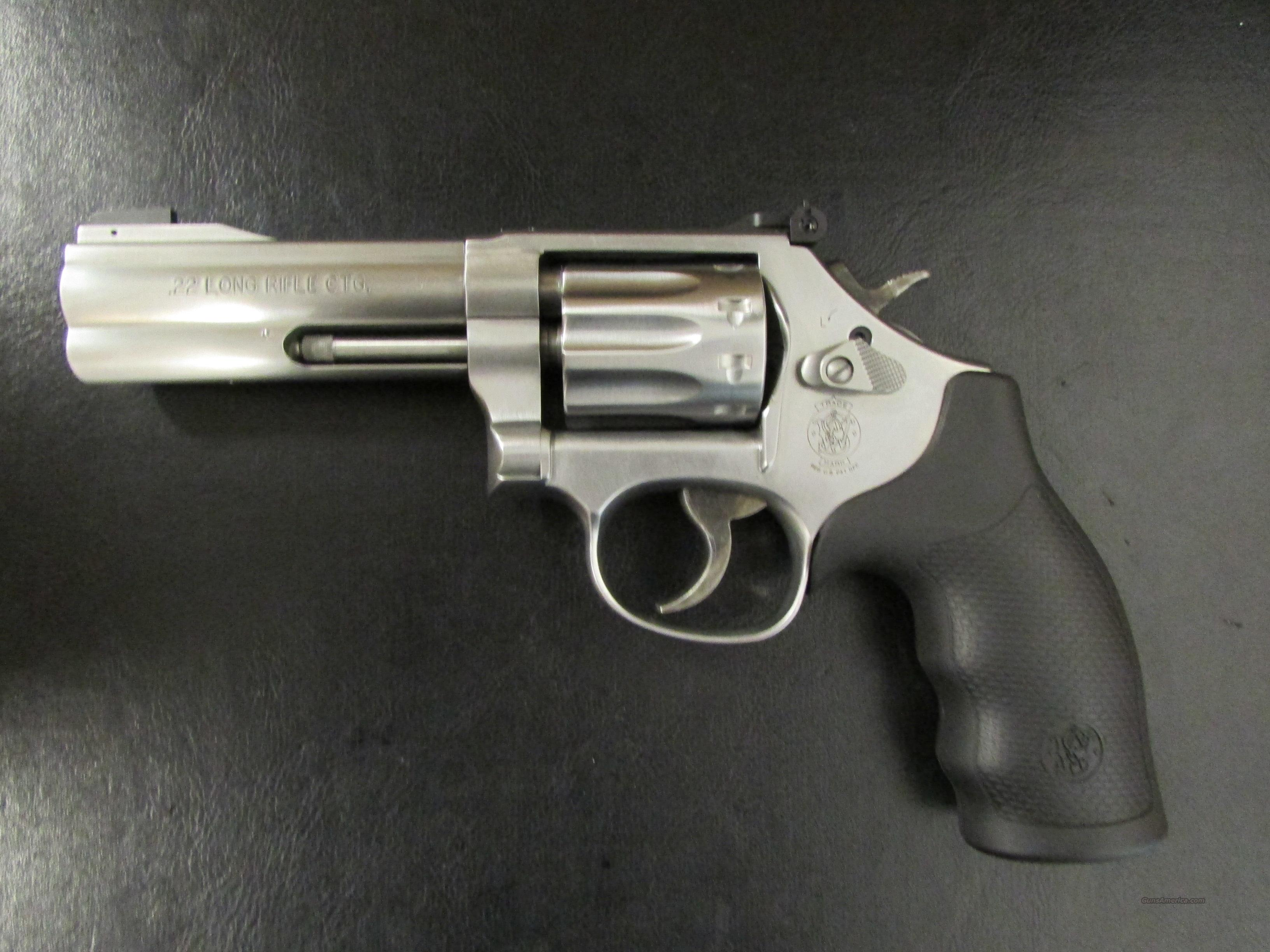 "Smith & Wesson Model 617 10-Shot .22LR 4"" Barrel  Guns > Pistols > Smith & Wesson Revolvers > Full Frame Revolver"