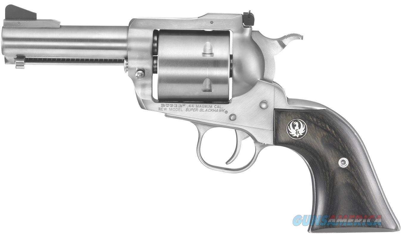"""Ruger New Model Super Blackhawk .44 Magnum 3.75"""" 0817   Guns > Pistols > Ruger Single Action Revolvers > Blackhawk Type"""