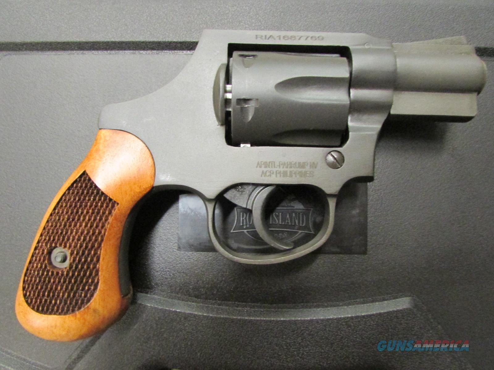 "Armscor Rock Island M206 Spurless Parkerized 2"" .38 Special 51280  Guns > Pistols > Armscor Pistols > Rock Island"