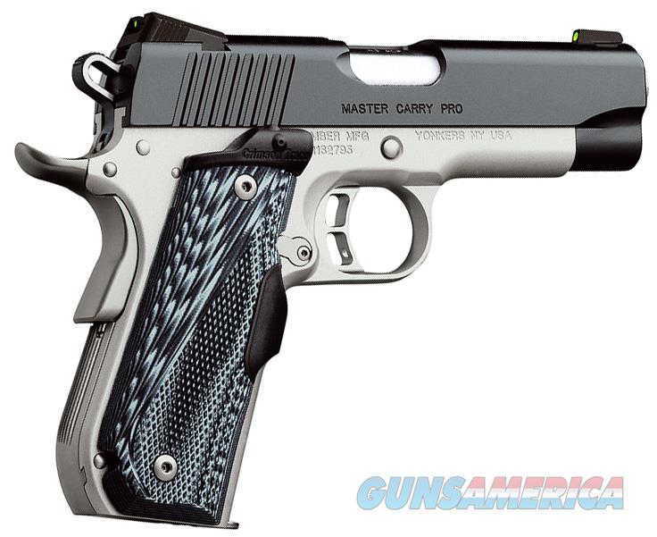 "Kimber Master Carry Pro 9mm 4"" CT (2017) 3000242   Guns > Pistols > Kimber of America Pistols > 1911"