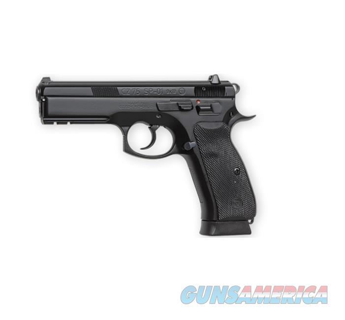 "CZ-USA CZ 75 SP-01 9mm 4.6"" Brl 18rd Black 91152  Guns > Pistols > CZ Pistols"