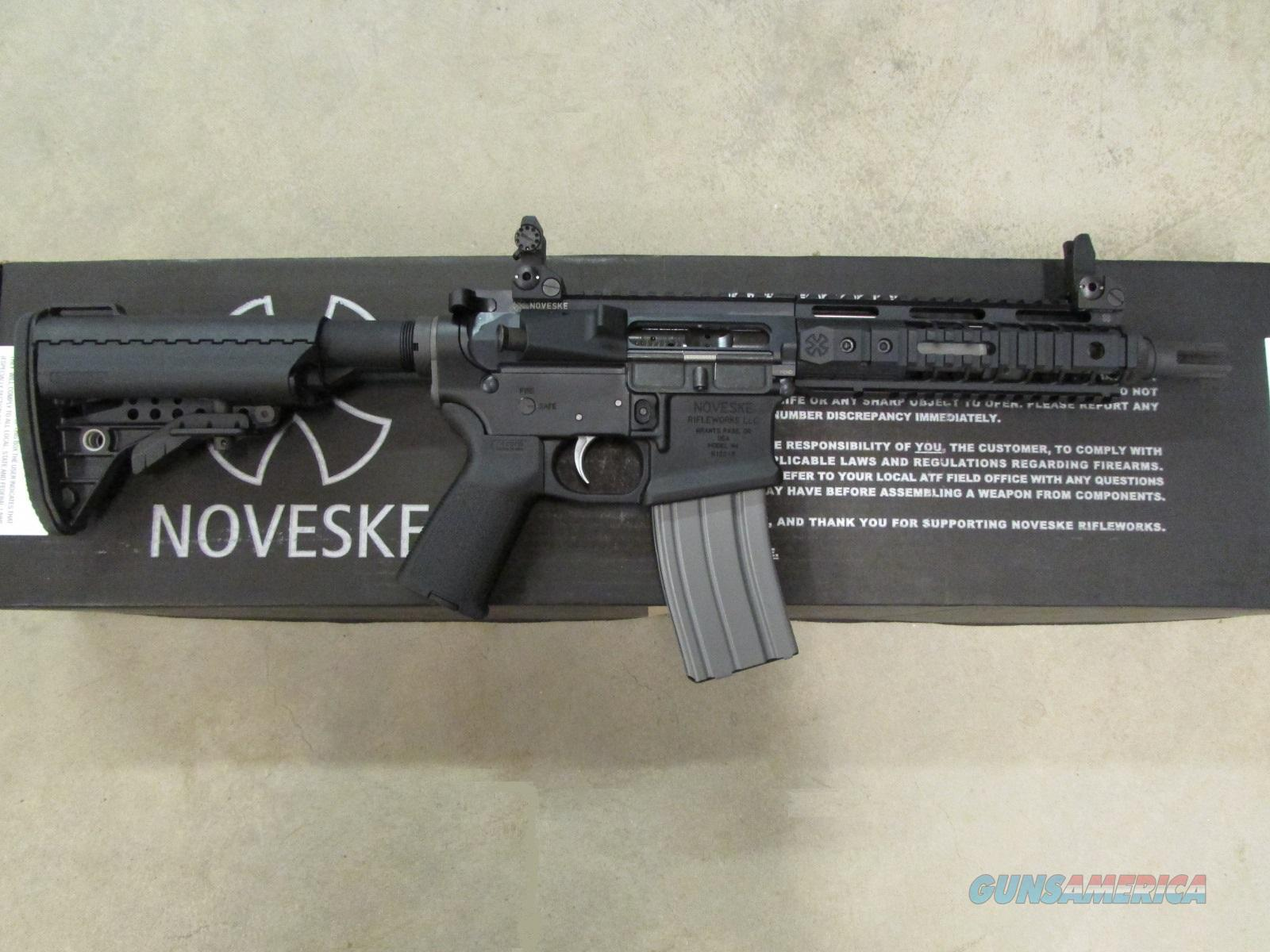 "Noveske N4 AR-15 8.2"" SBR 300 AAC Blackout  Guns > Rifles > AR-15 Rifles - Small Manufacturers > Complete Rifle"