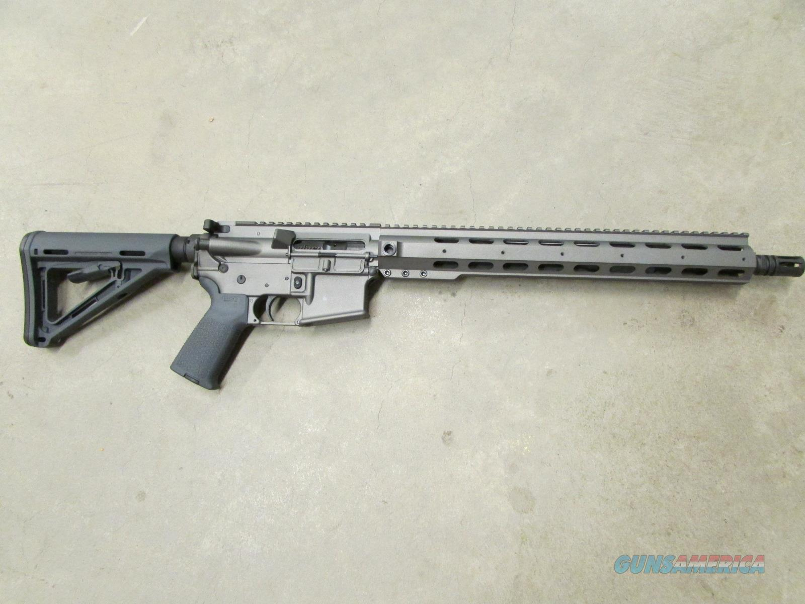 "ANDERSON COMPLETE AR-15 TUNGSTEN GRAY CERAKOTE 5.56 NATO 16""  Guns > Rifles > AR-15 Rifles - Small Manufacturers > Complete Rifle"
