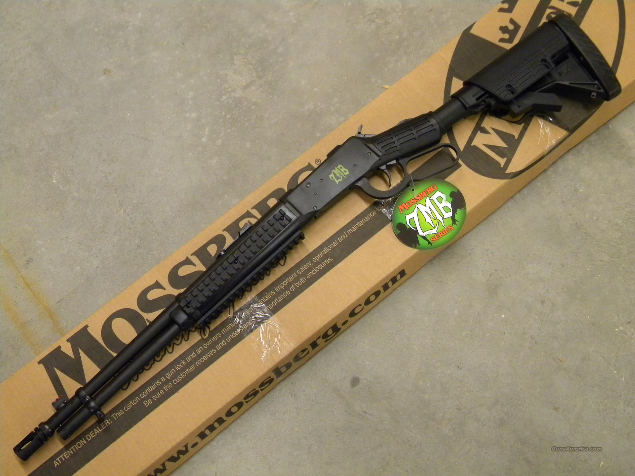 Mossberg 464 ZMB Series Tactical .30-30 Win.   Guns > Rifles > Mossberg Rifles > Lever Action