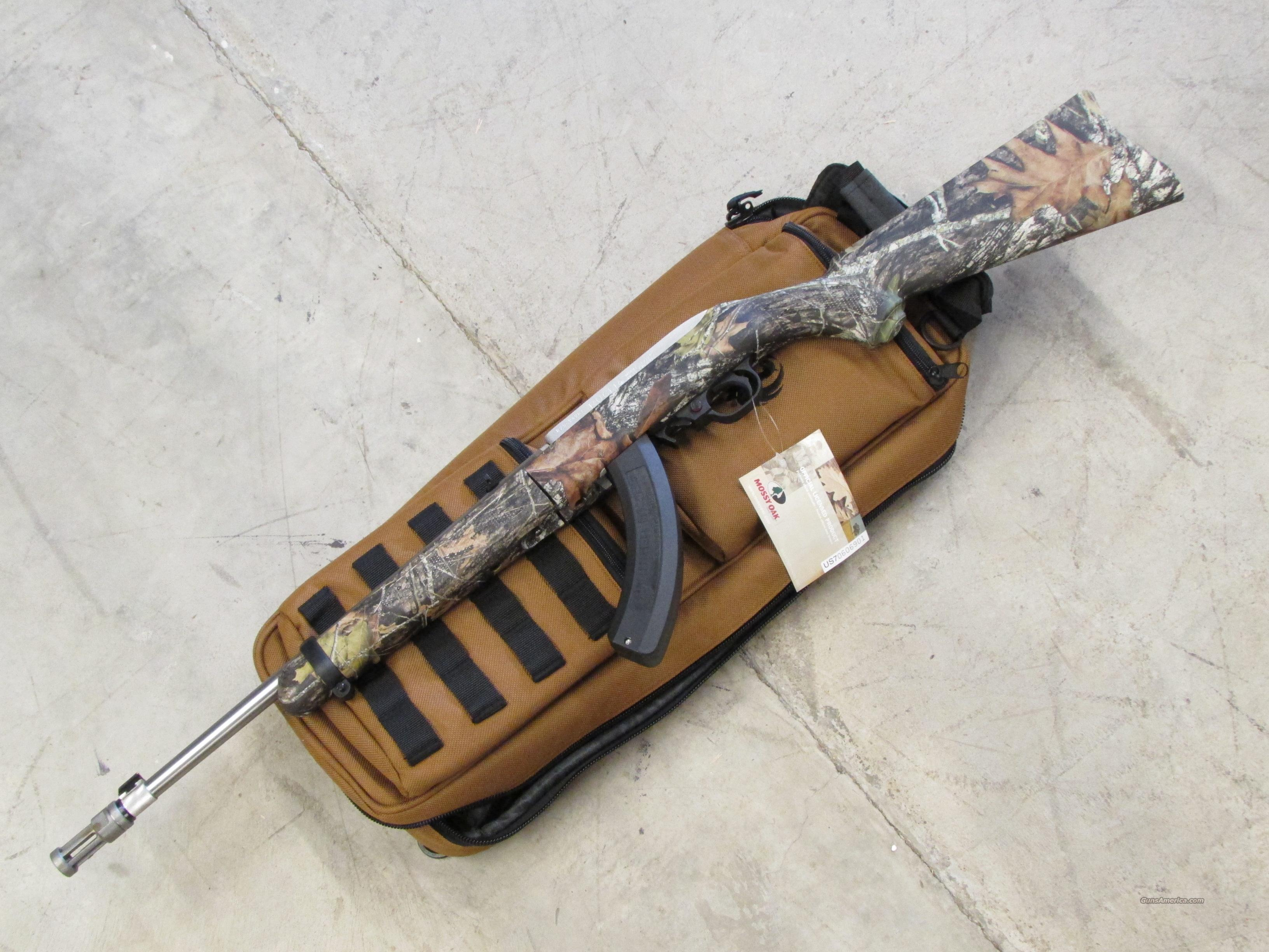 Ruger 10/22 Takedown Dealer Exclusive Mossy Oak .22LR  Guns > Rifles > Ruger Rifles > 10-22