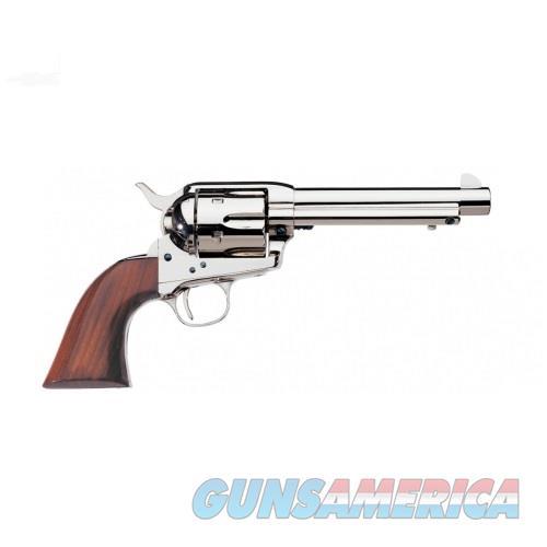 "Uberti 1873 Cattleman Nickel .45 Colt 5.5"" 344112  Guns > Pistols > Uberti Pistols > Ctg."