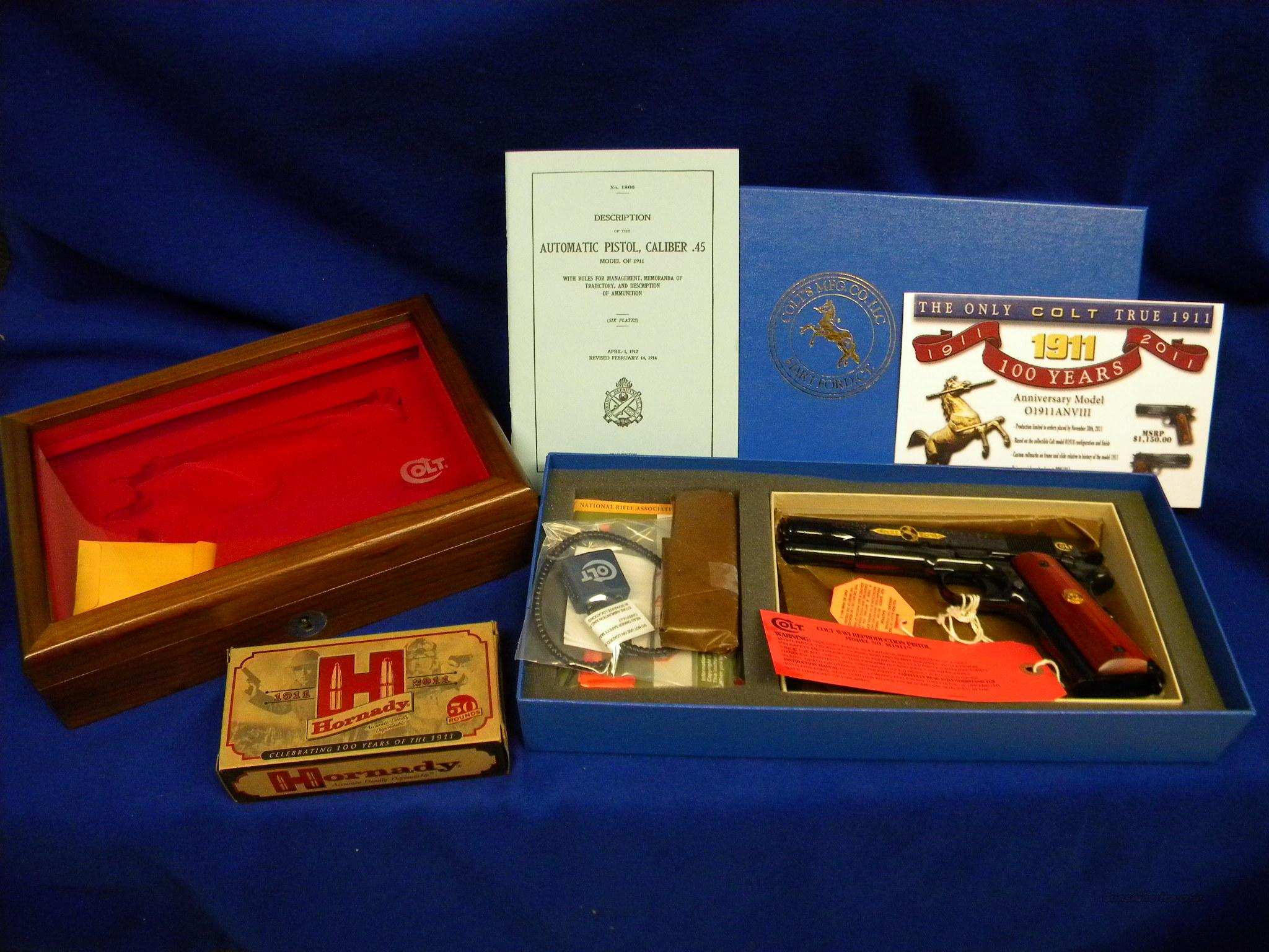 Colt Centennial 100 Year Commemorative 1911 Tier II   Guns > Pistols > Colt Commemorative Pistols