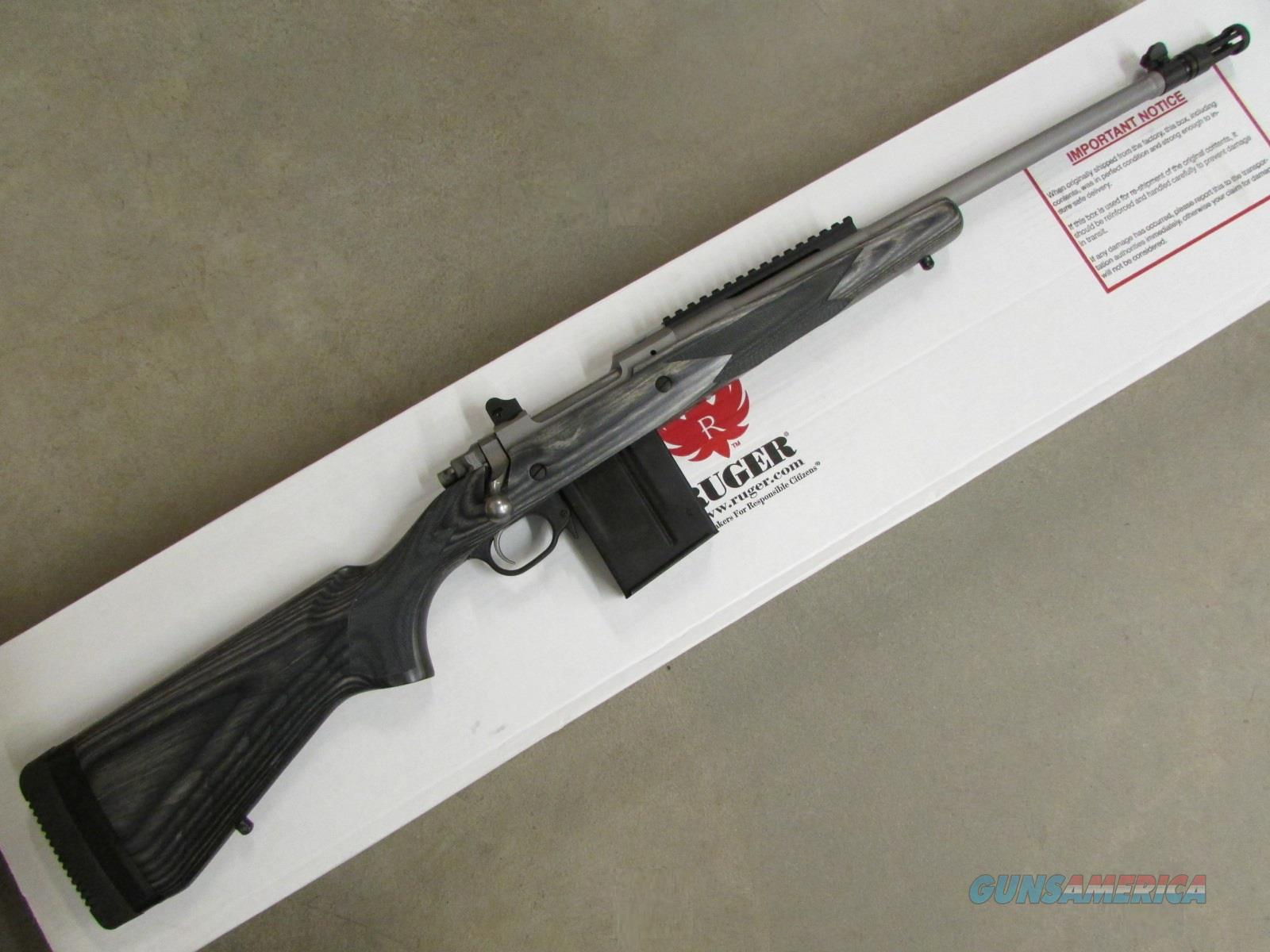 "Ruger M77 Gunsite Scout Stainless 18"" .308 Win. 6822  Guns > Rifles > Ruger Rifles > Model 77"