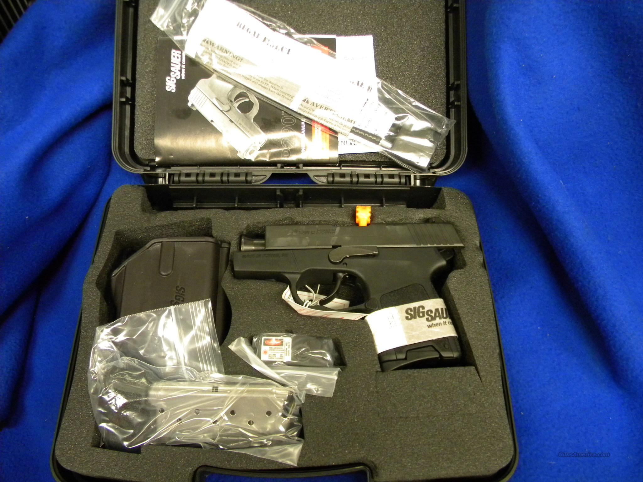 Sig Sauer P290 9mm Restrike w/Laser and Holster #290RS9BSSL  Guns > Pistols > Sig - Sauer/Sigarms Pistols > P290