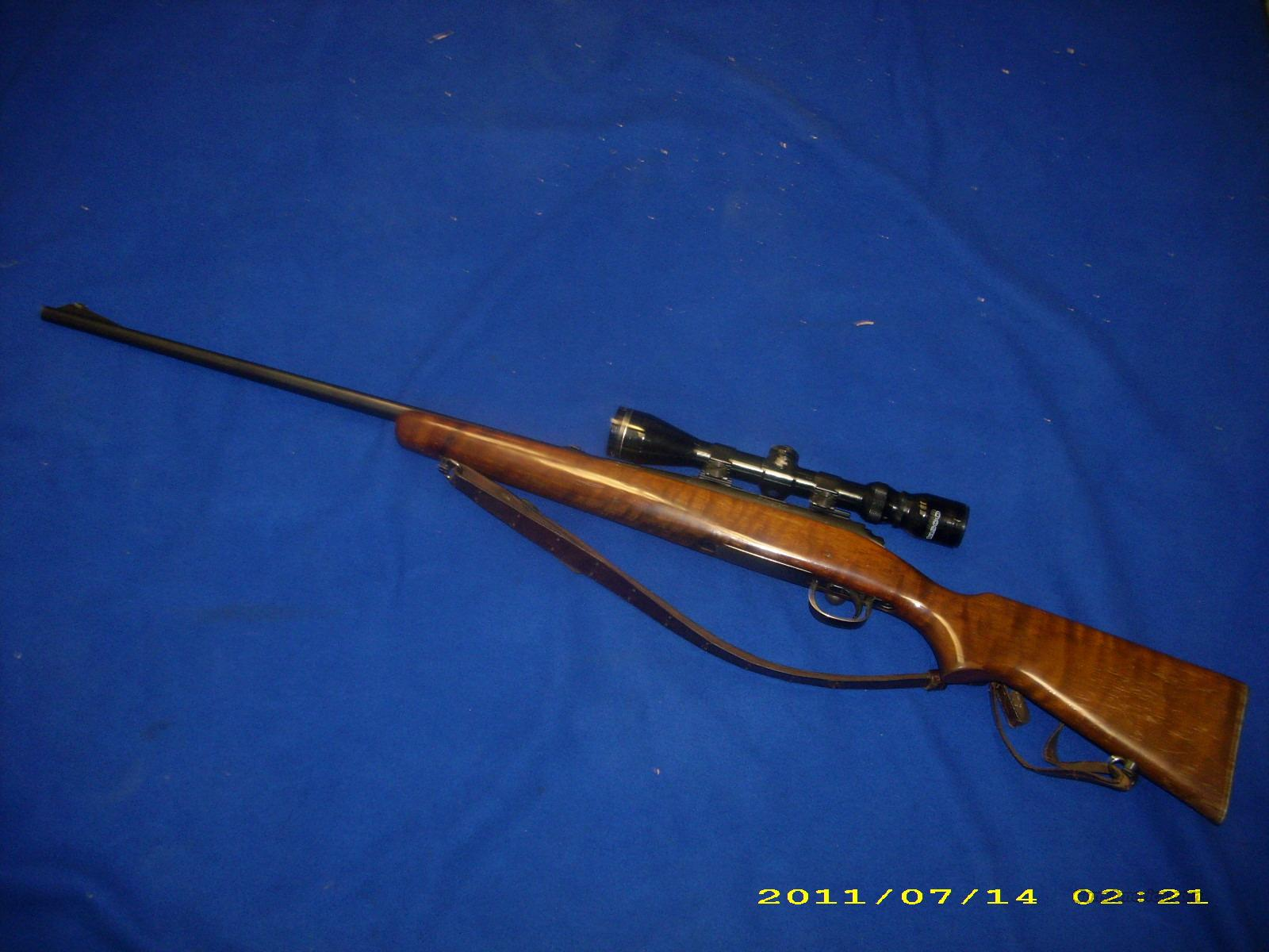 Remington Model 722 222 Cal.   Guns > Rifles > Remington Rifles - Modern > Bolt Action Non-Model 700 > Sporting