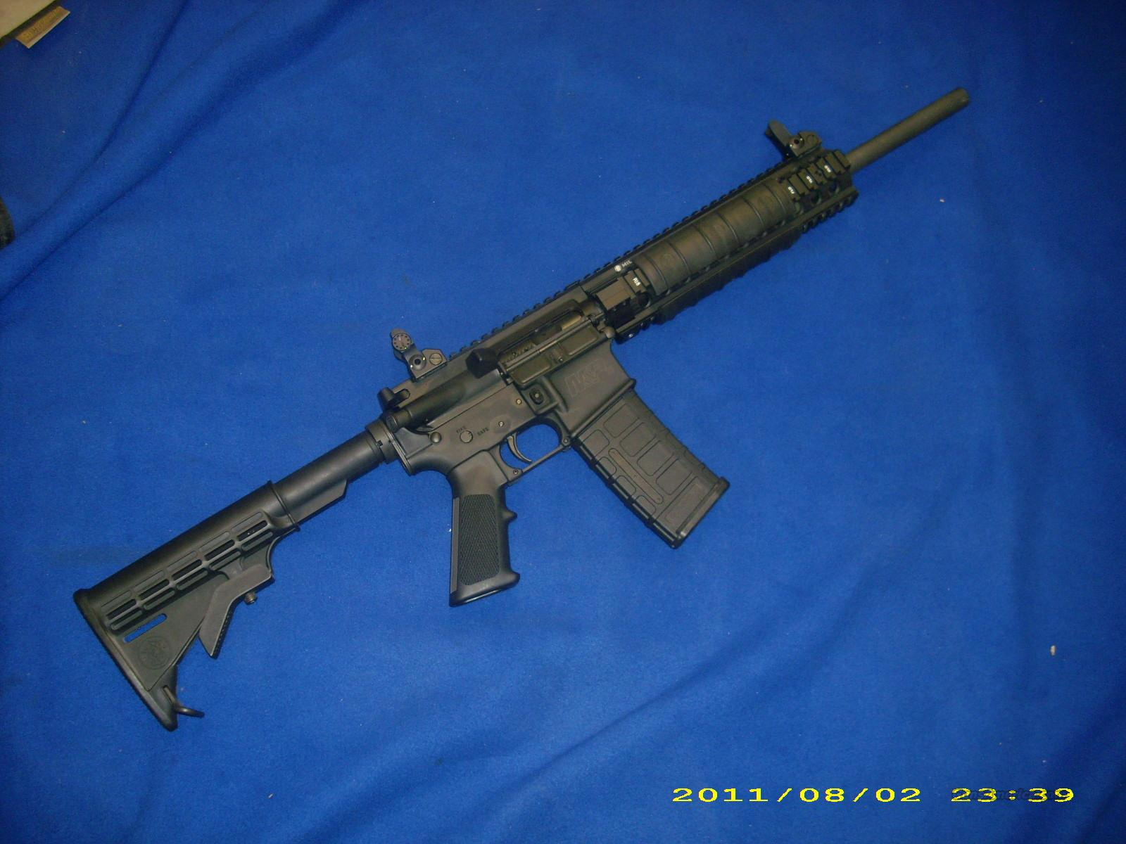 Smith and Wesson M&P 15 5.56   Guns > Rifles > Smith & Wesson Rifles > M&P