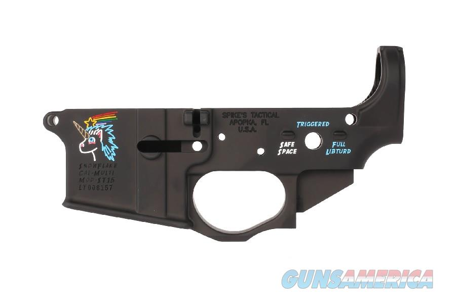 Spike's Tactical Snowflake AR-15 Lower Receiver STLS030-CFA   Guns > Rifles > AR-15 Rifles - Small Manufacturers > Lower Only