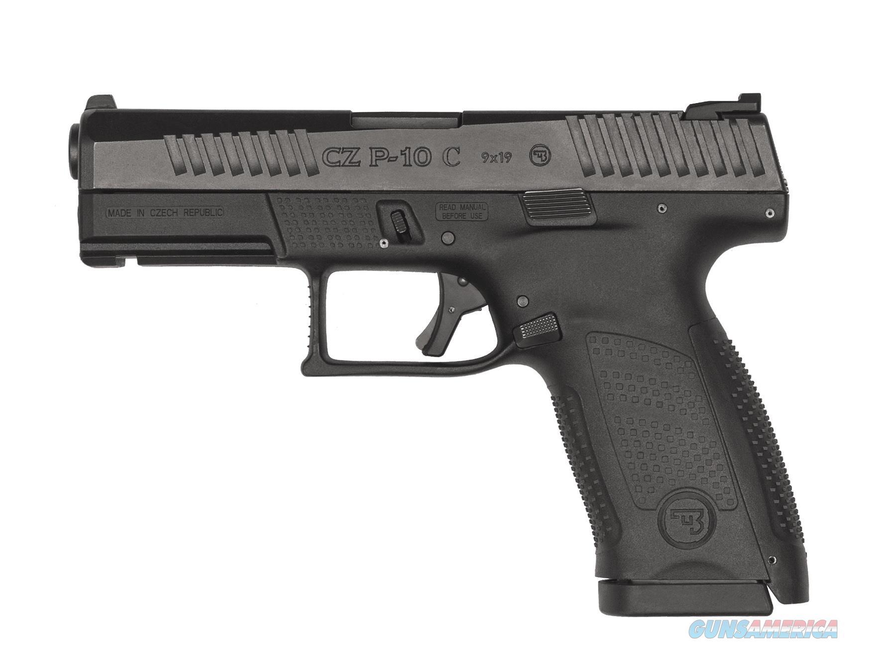 """CZ-USA CZ P-10 C 9mm Luger 15 Rds 4.02"""" 91520   Guns > Pistols > CZ Pistols"""