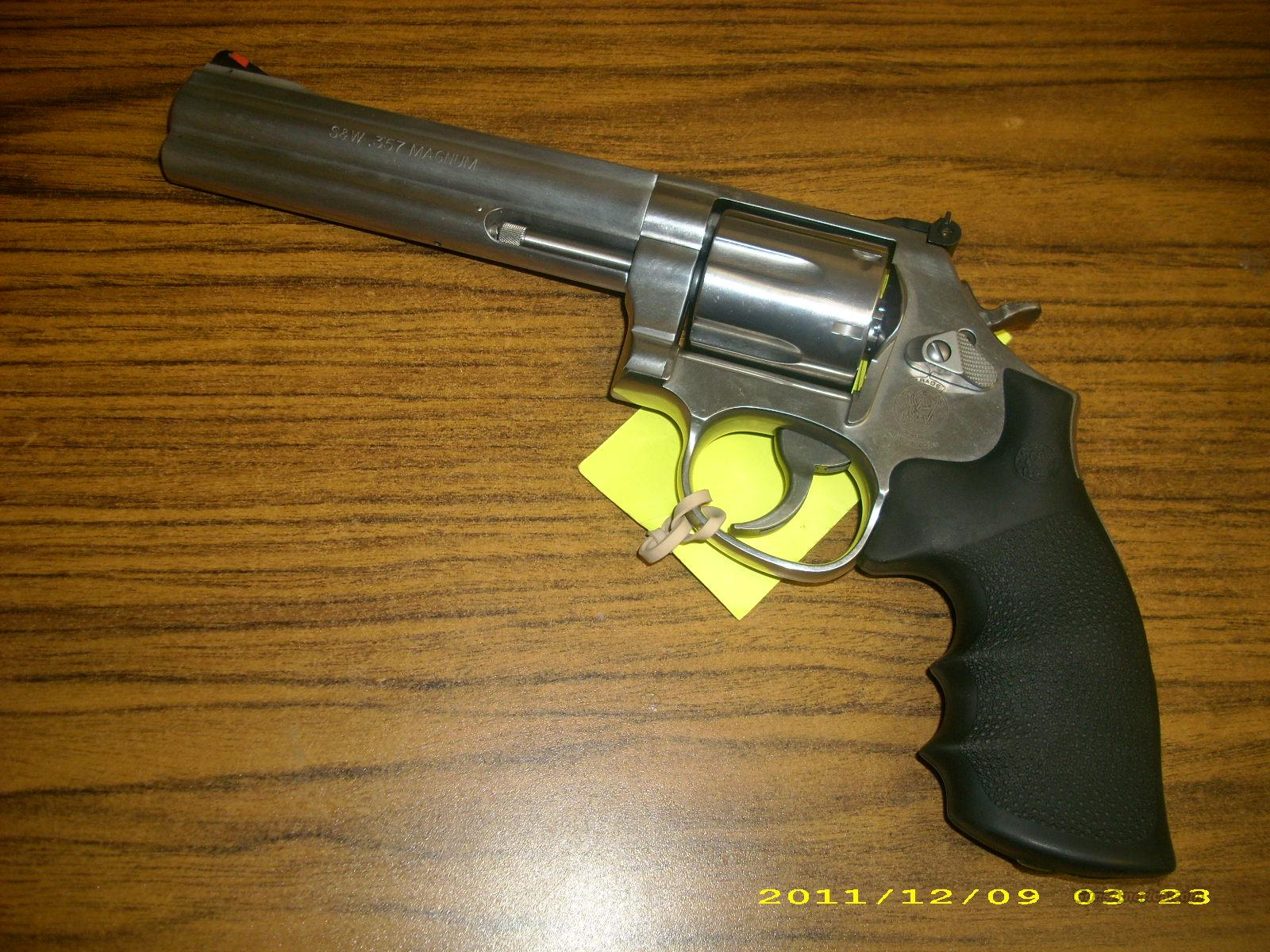 Smith & Wesson 686 Plus .357 Mag. #164198  Guns > Pistols > Smith & Wesson Revolvers > Full Frame Revolver