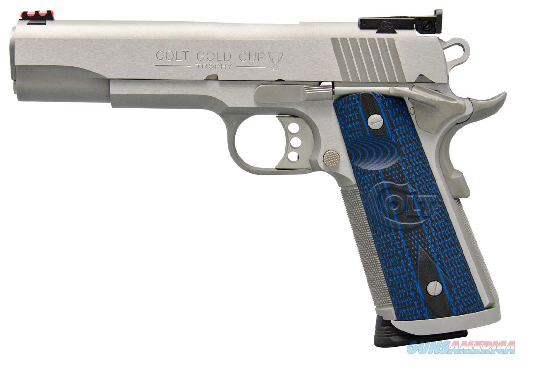 "Colt 1911 Gold Cup Trophy 9mm 5"" 9 Rd O5072XE   Guns > Pistols > Colt Automatic Pistols (1911 & Var)"