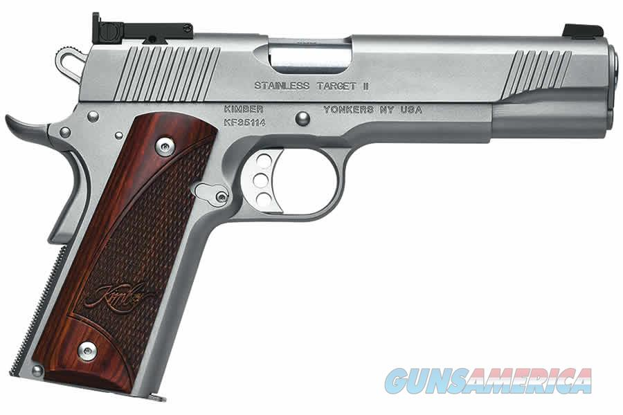 "Kimber Stainless Target II .45 ACP (2017) 5"" 7rd 3200325   Guns > Pistols > Kimber of America Pistols"
