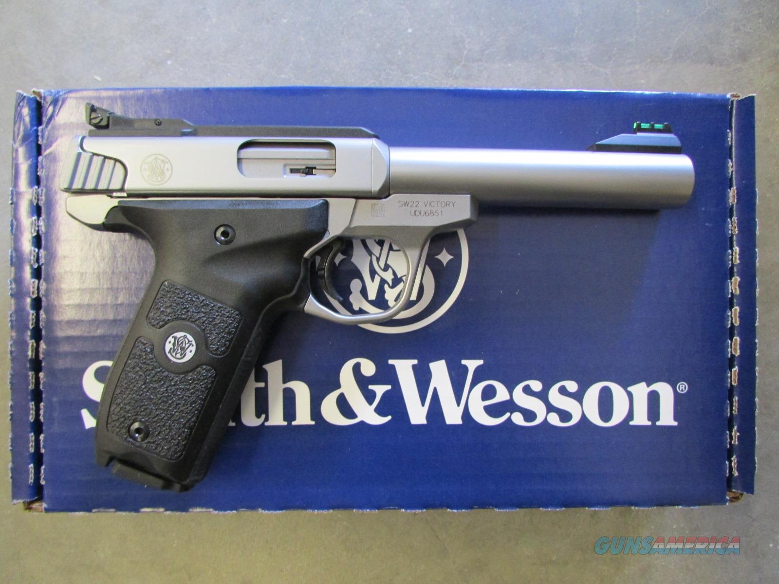 Smith & Wesson SW22 Victory Stainless .22 LR 108490  Guns > Pistols > Smith & Wesson Pistols - Autos > .22 Autos