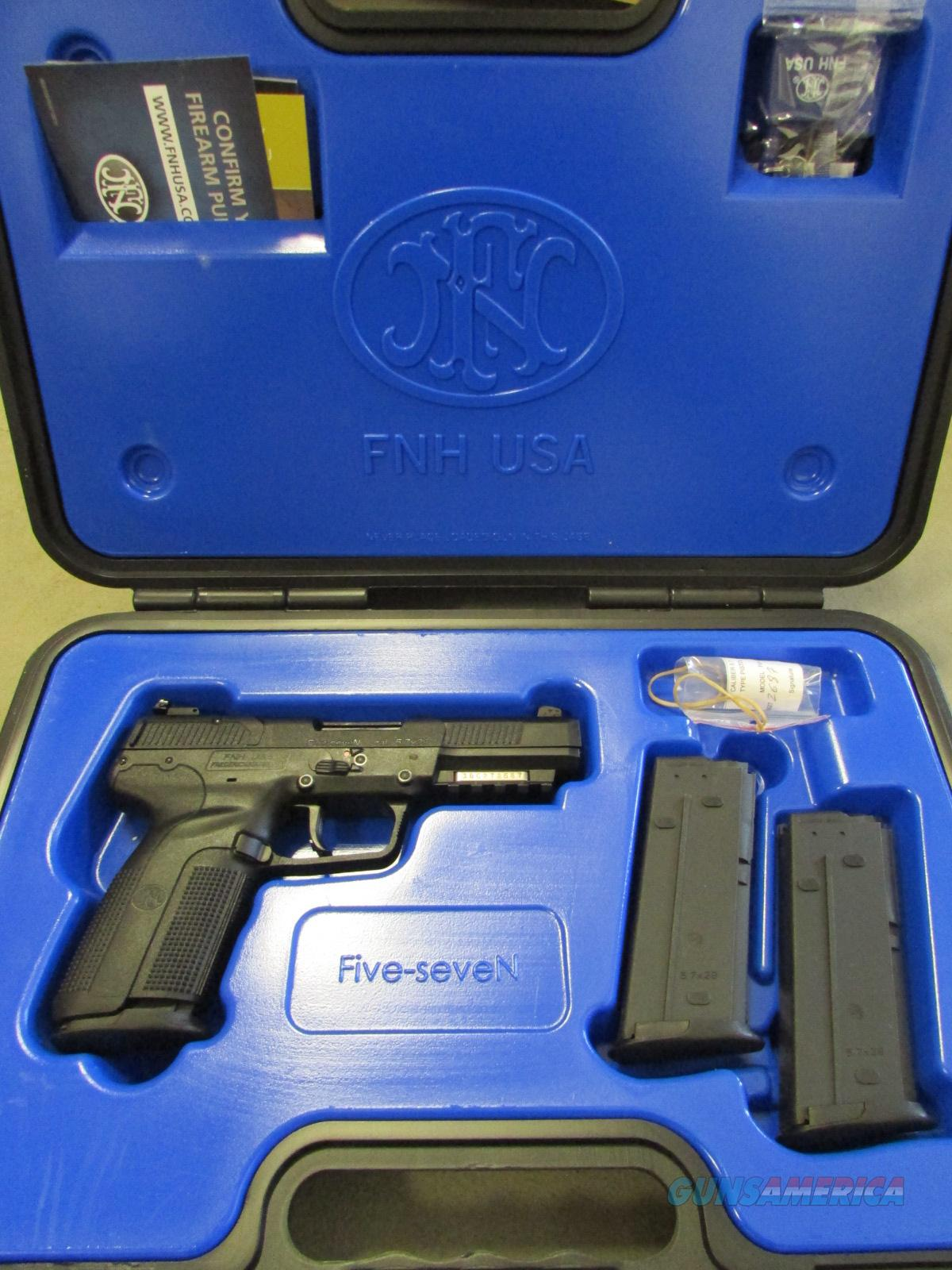 FNH-USA Five-SeveN MKII 5.7X28mm BLACK FN 5.7  Guns > Pistols > FNH - Fabrique Nationale (FN) Pistols > FiveSeven