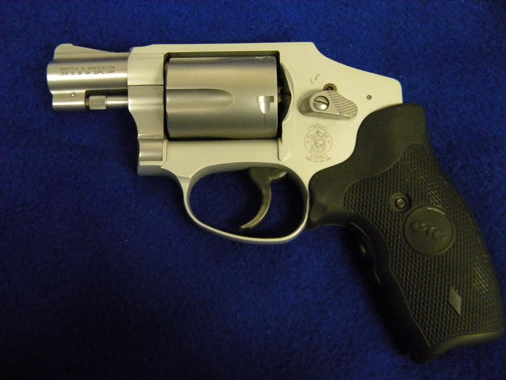 Used Smith & Wesson 642 .38 SPL W/Laser Grips  Guns > Pistols > Smith & Wesson Revolvers > Pocket Pistols