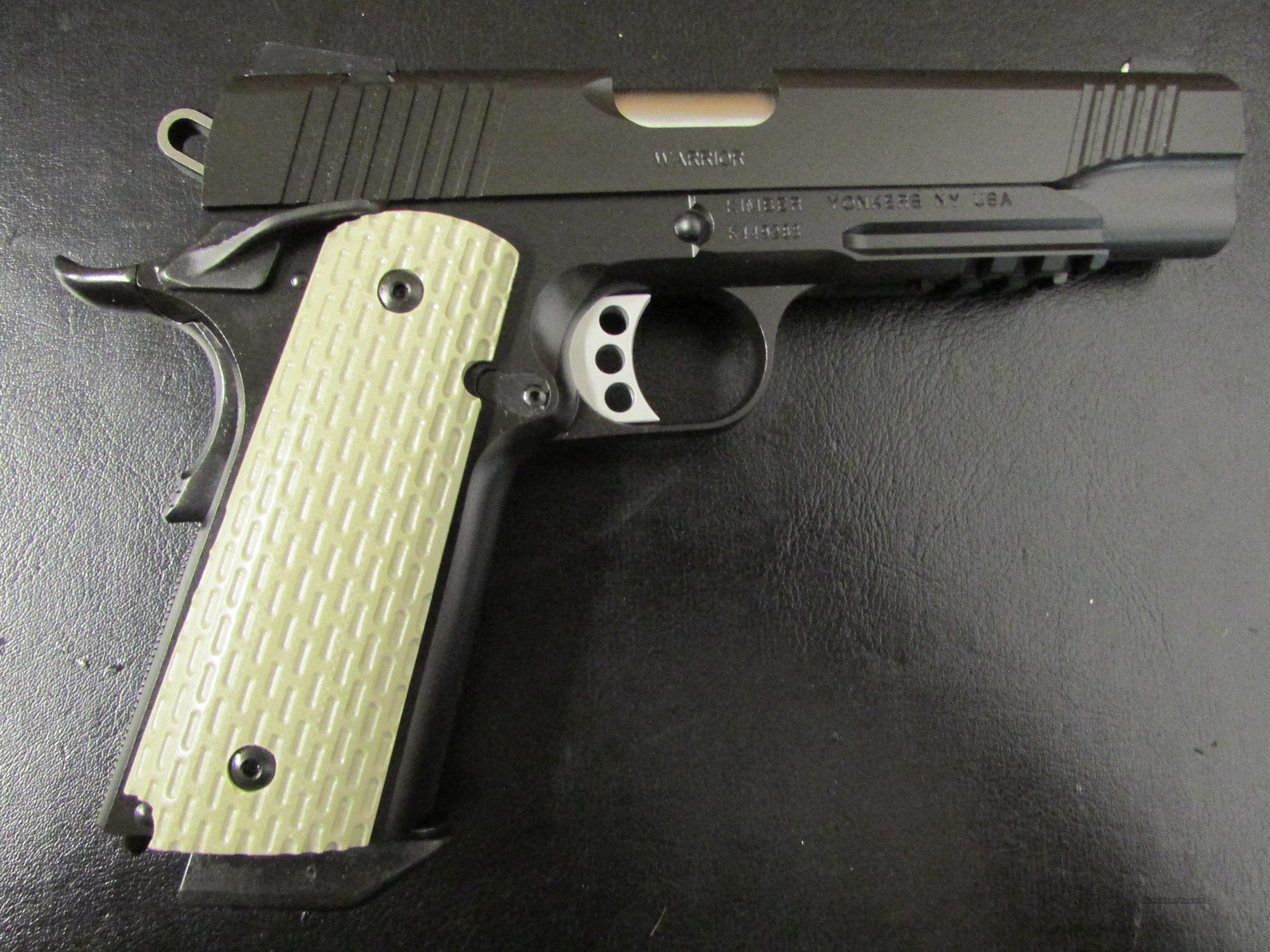 Kimber Custom II Warrior Full-Size Tactical 1911 .45 ACP  Guns > Pistols > Kimber of America Pistols