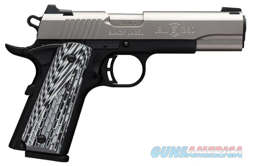 Browning 1911-380 Black Label Pro Stainless .380 ACP 051926492   Guns > Pistols > Browning Pistols > Other Autos
