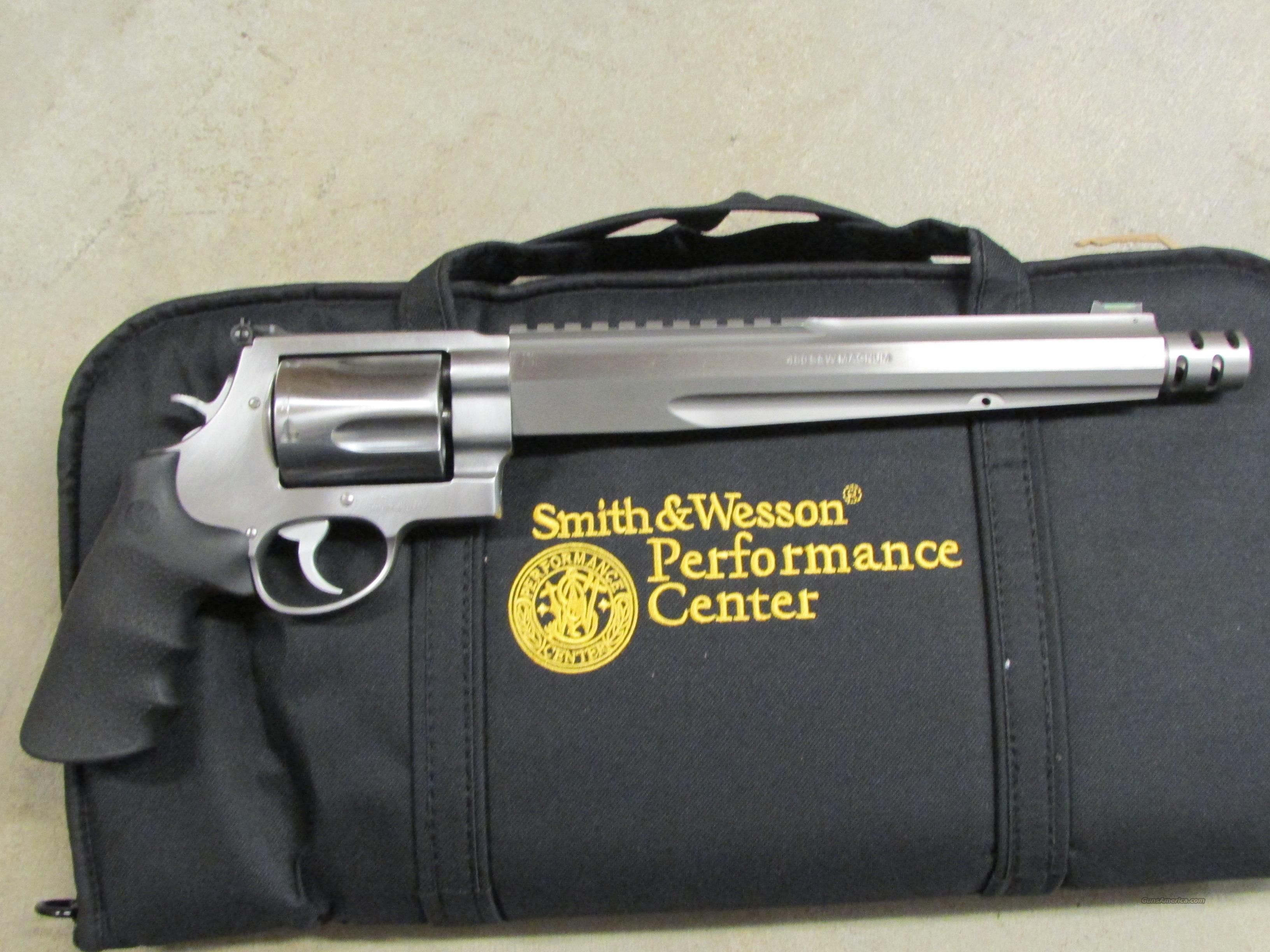 "Smith & Wesson Model 460XVR 10.5"" Stainless .460 S&W  Guns > Pistols > Smith & Wesson Revolvers > Performance Center"