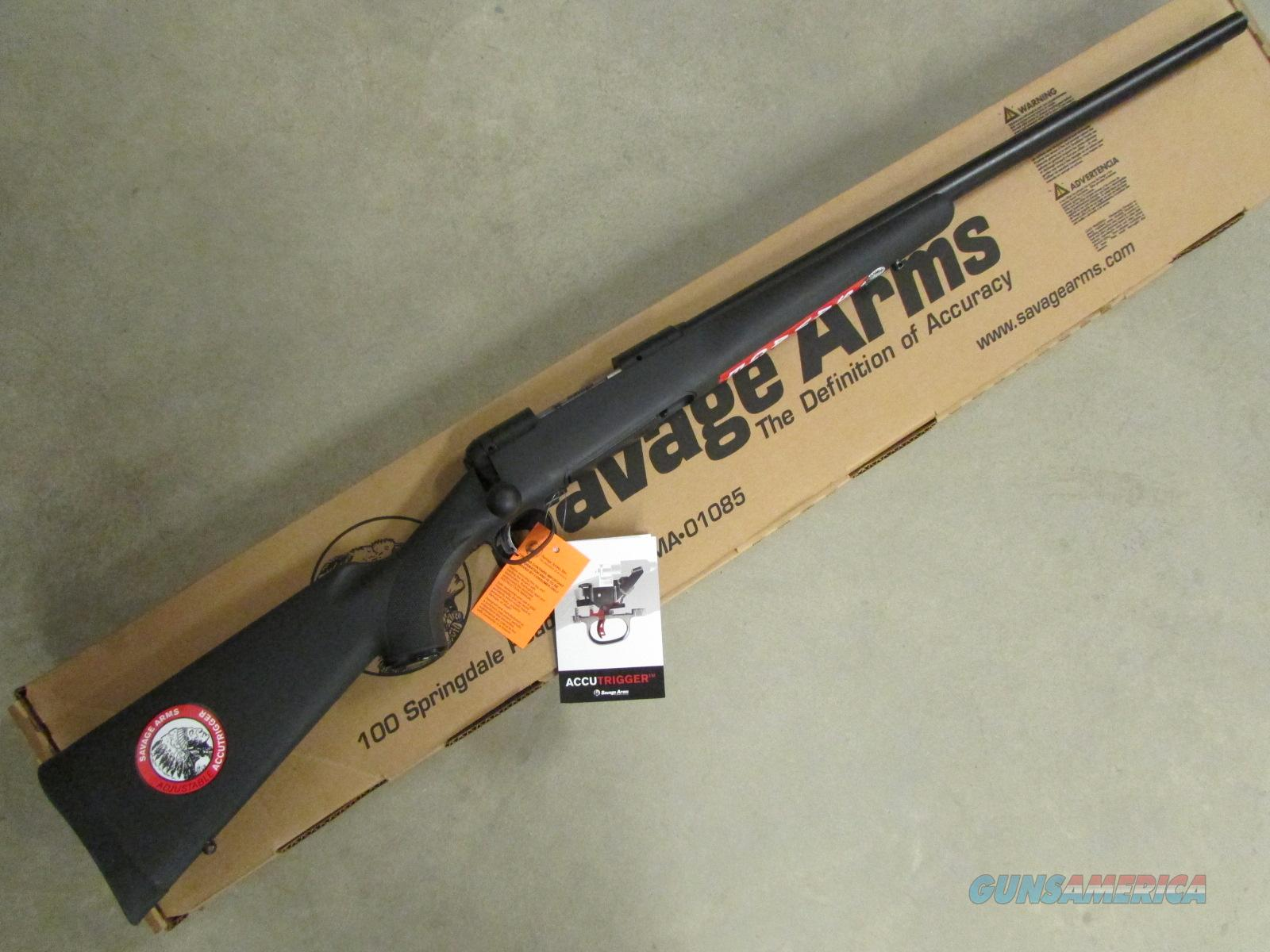 "Savage 12 FCV 26"" Blued Barrel Black Synthetic .223 Rem 22445  Guns > Rifles > Savage Rifles > Accutrigger Models > Sporting"