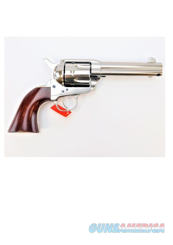 "Uberti 1873 Cattleman Nickel .45 Colt 4.75"" 344102  Guns > Pistols > Uberti Pistols > Ctg."
