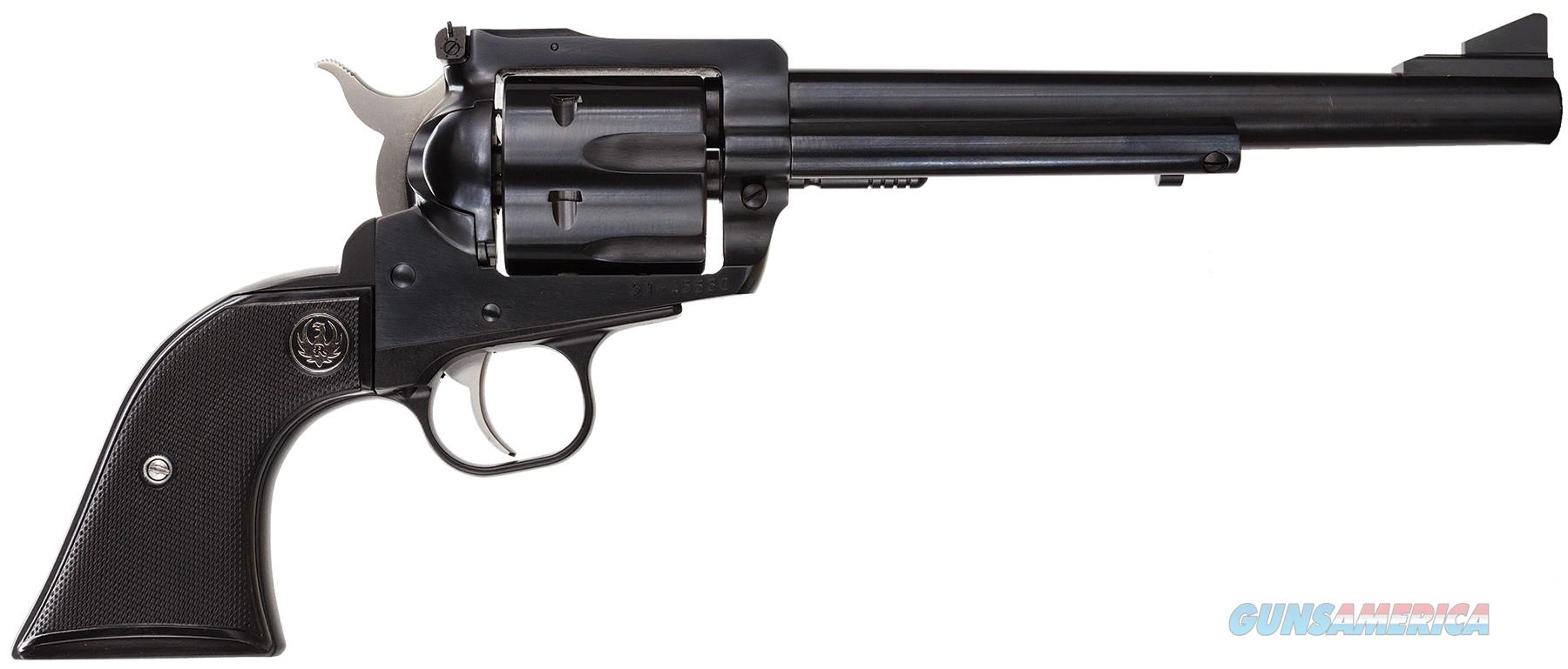 "Ruger New Model Blackhawk 7.5"" Blued Single-Action .30 Carbine 0505  Guns > Pistols > Ruger Single Action Revolvers > Blackhawk Type"