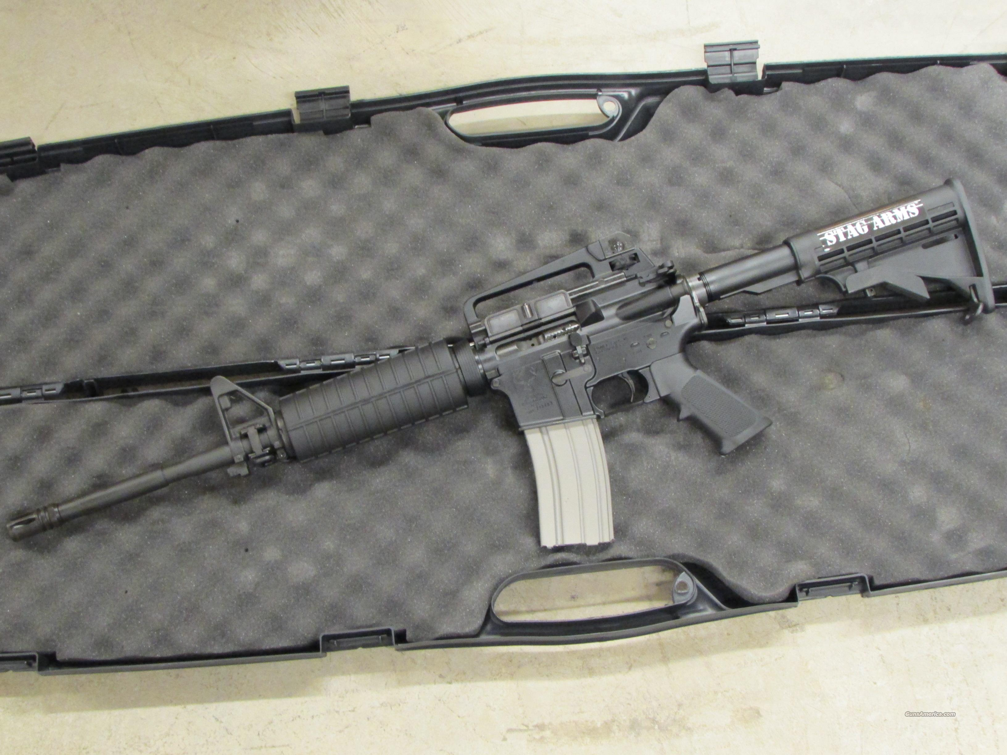 Stag Arms Model 1L Left-Handed AR-15 5.56 NATO  Guns > Rifles > AR-15 Rifles - Small Manufacturers > Complete Rifle