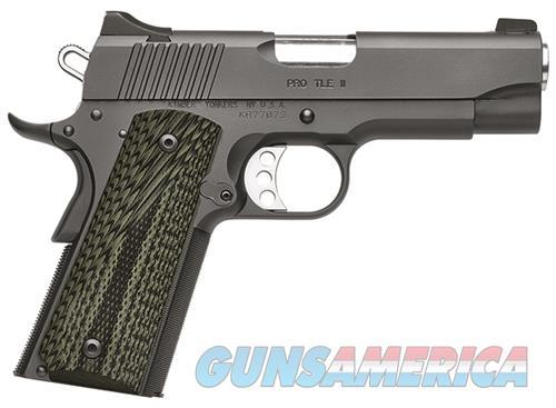 "Kimber Pro TLE II .45 ACP 4"" Night Sights 3200340   Guns > Pistols > Kimber of America Pistols"